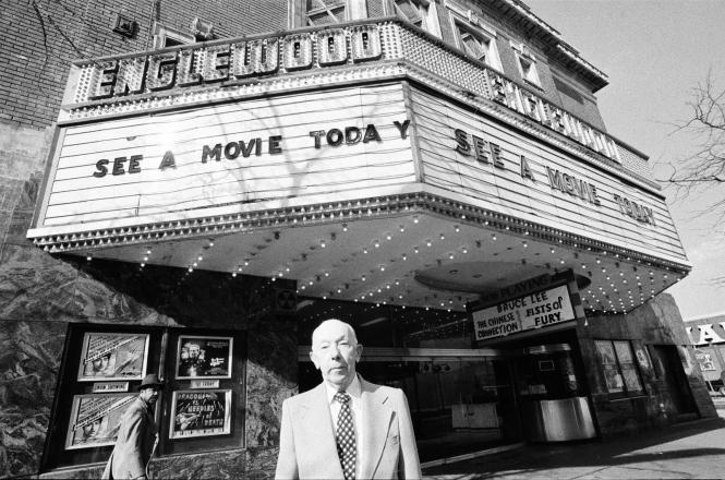 Hugh Mann Manager of the Englewood Theatre 2
