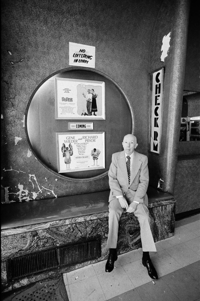 Hugh Mann Manager of the Englewood Theatre 3