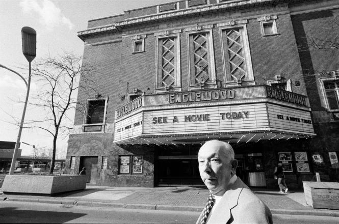 Hugh Mann Manager of the Englewood Theatre 4