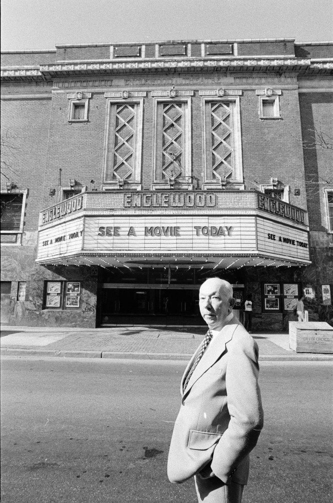 Hugh Mann Manager of the Englewood Theatre 5