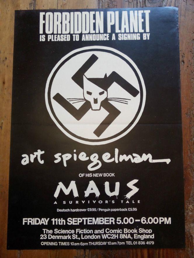 Art Spiegelman at Forbidden Planet, London 1987