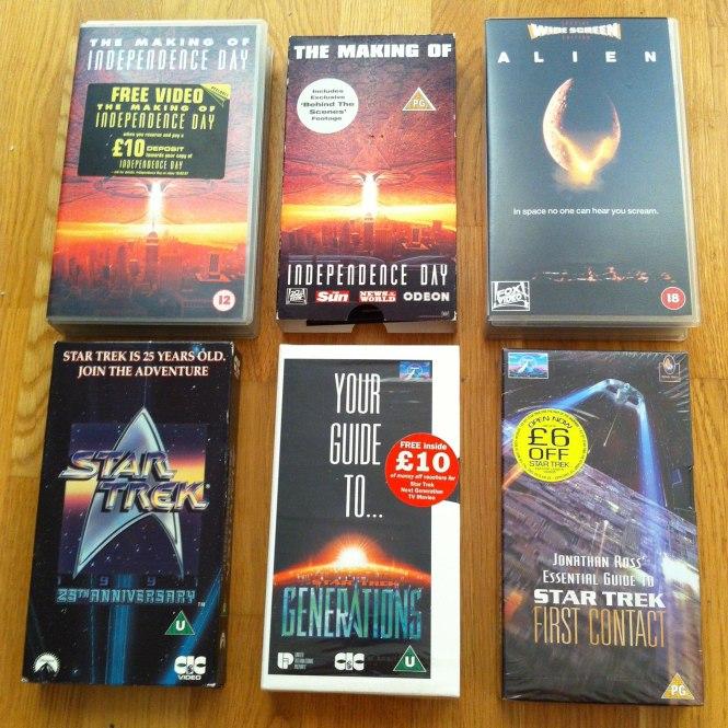 Nine Worlds VHS Sci-Fi