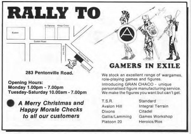 Gamers In Exile WD60 Dec 1984