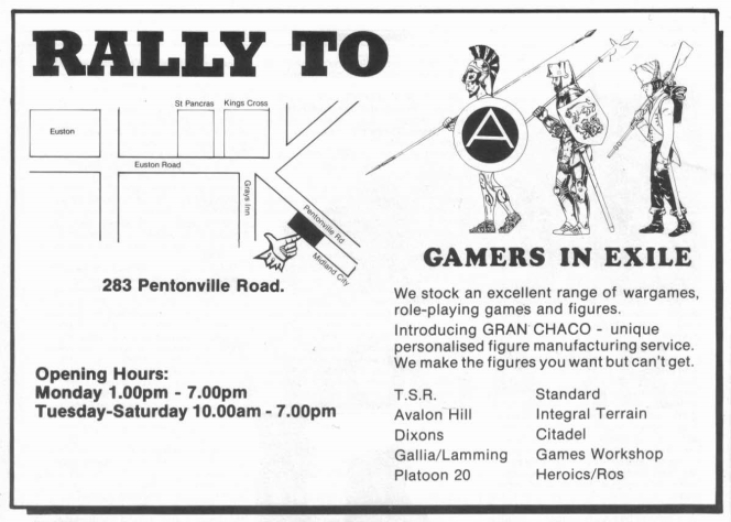 Gamers In Exile WD64 April 1985