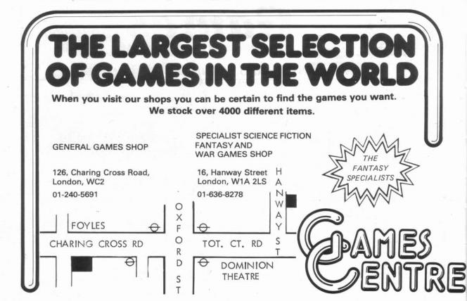 Games Centre WD22 Dec Jan 1980 1981