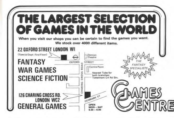 Games Centre WD23 Feb March 1981