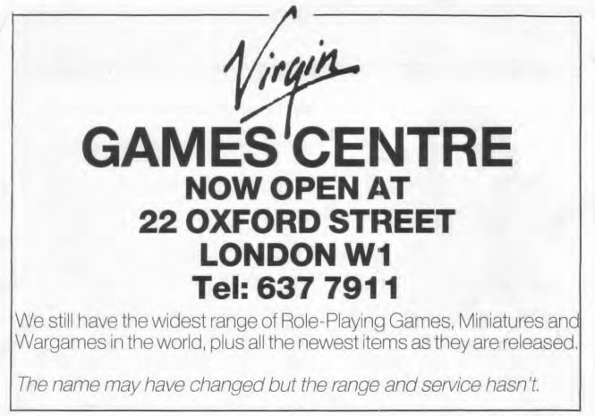 Games Centre WD55 July 1984