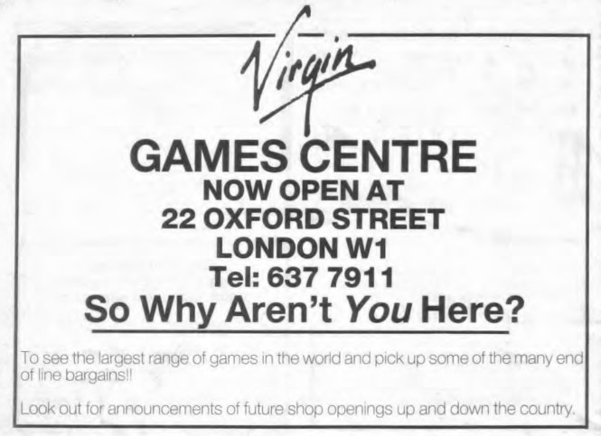 Games Centre WD56 August 1984