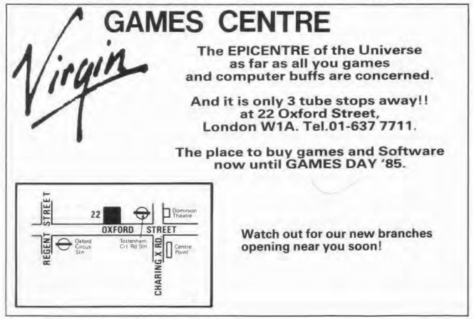 Games Centre WD57 Sep 1984