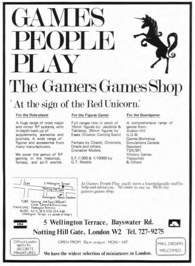 Games People Play WD52 April 1984
