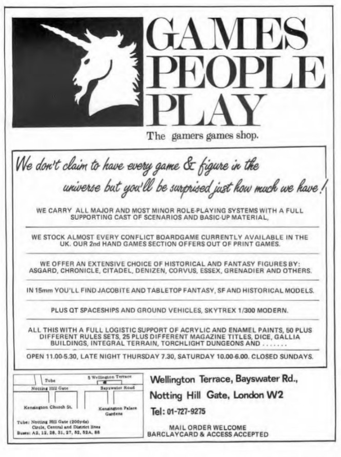 Games People Play WD58 Oct 1984