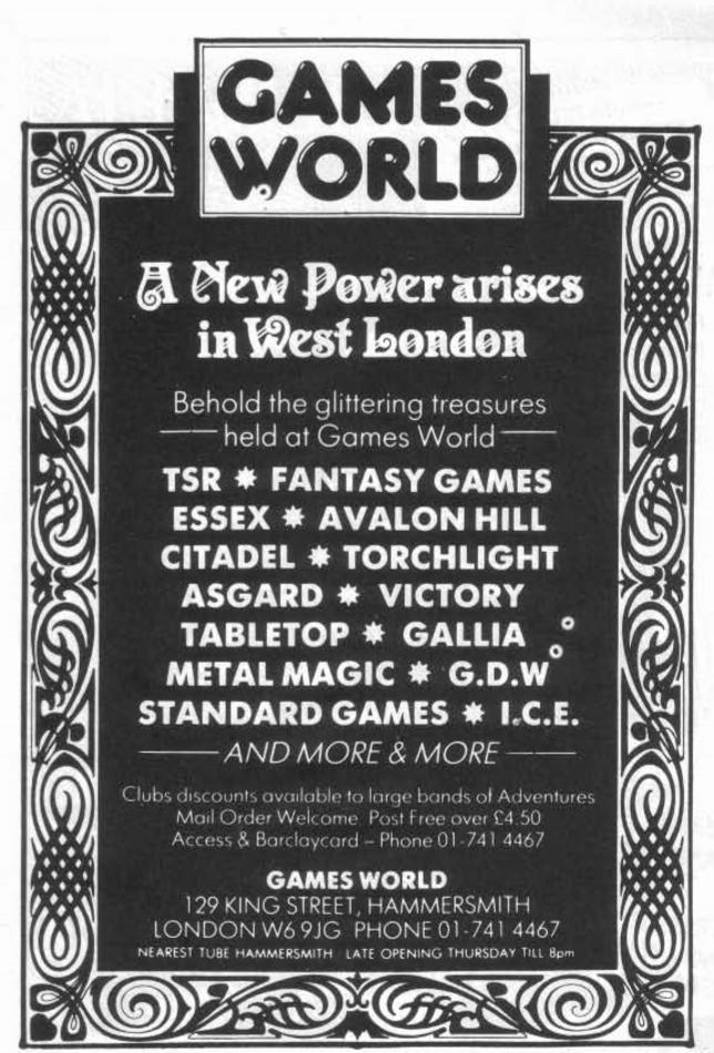 Games World WD74 December 1985