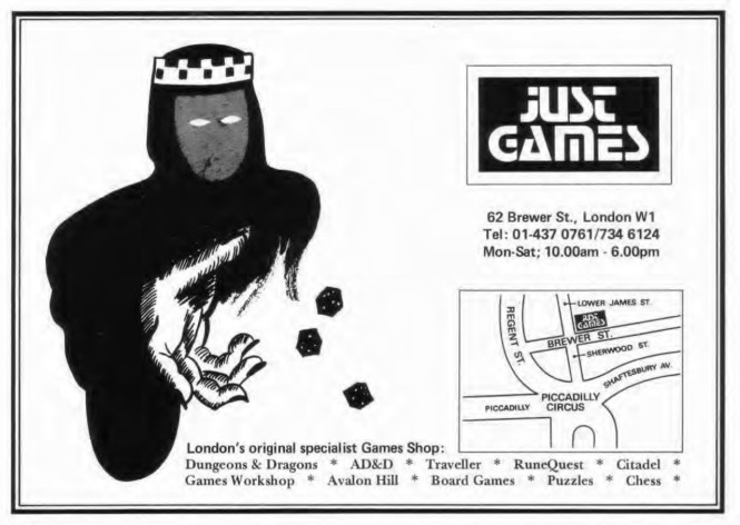 Just Games WD51 March 1984