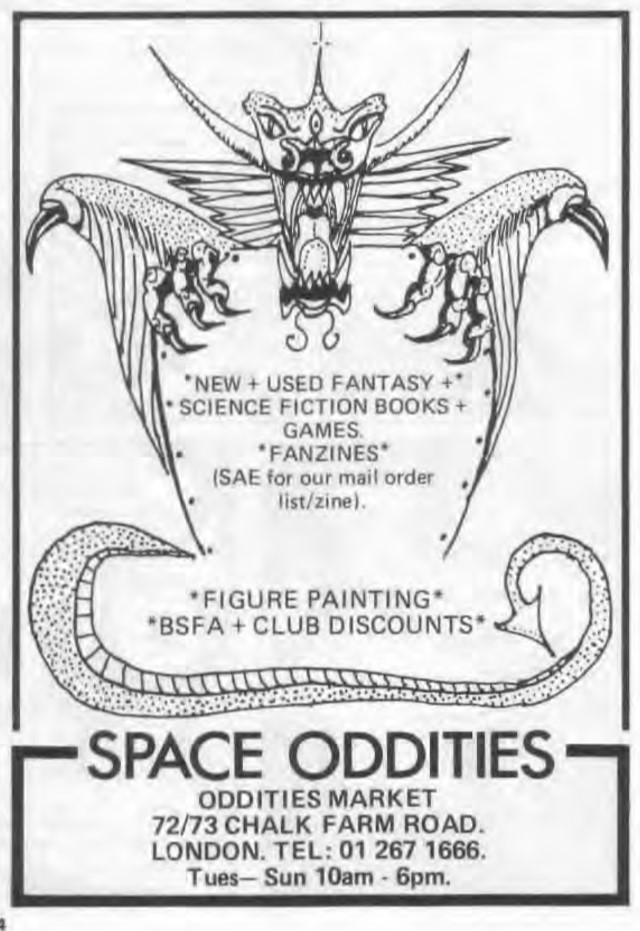 Space Oddities WD73 Jan 1986