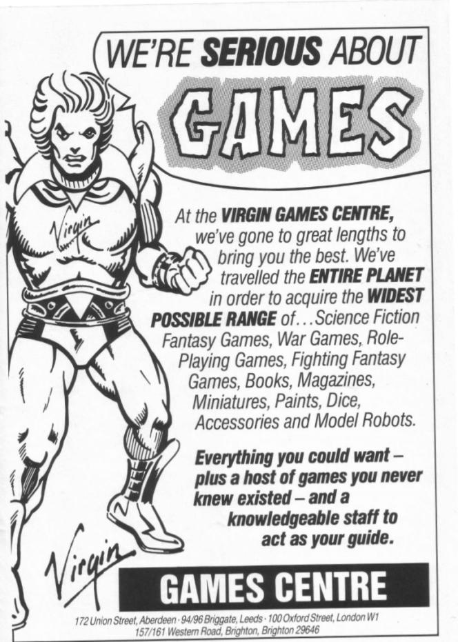 Virgin Games WD74 December 1985