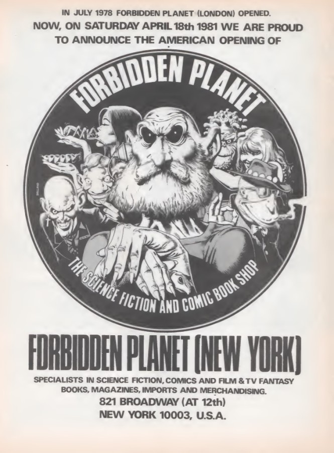 01 Forbidden Planet NYC SB32 1981