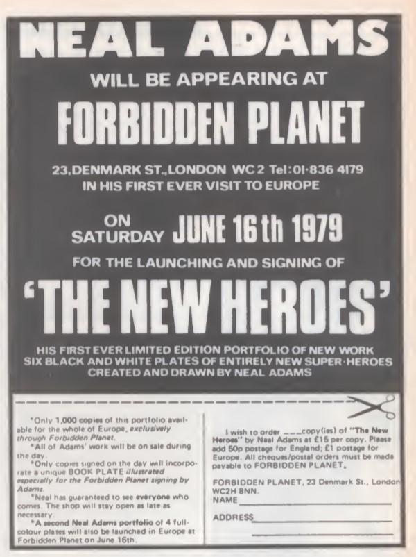 02 Forbidden Planet Neil Adams SB9 1979