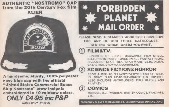 05 Forbidden Planet Alien SB17 1980