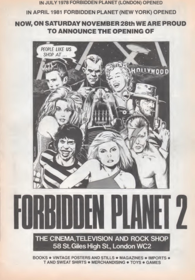 06 Forbidden Planet 2 SB40 1981