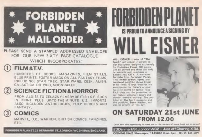07 Forbidden Planet Will Eisner SB23 1980