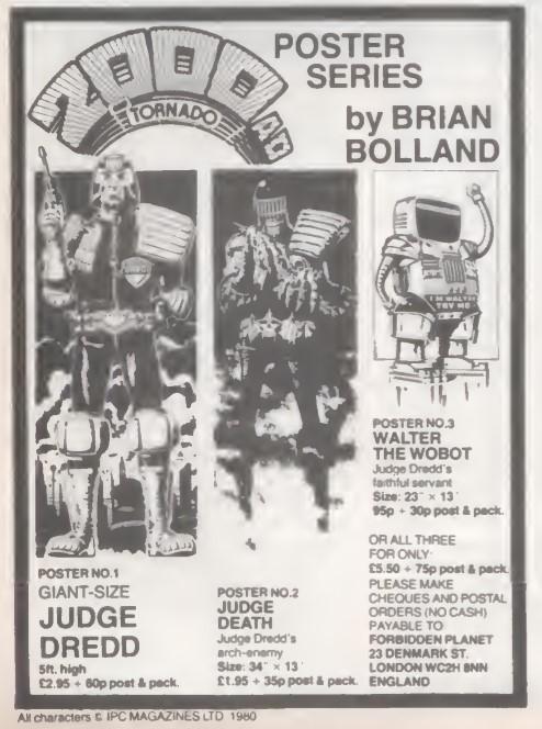 09 Forbidden Planet Judge Dredd SB26 1980