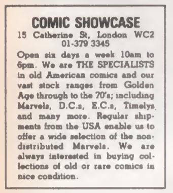 Comic Showcase SB36 1981