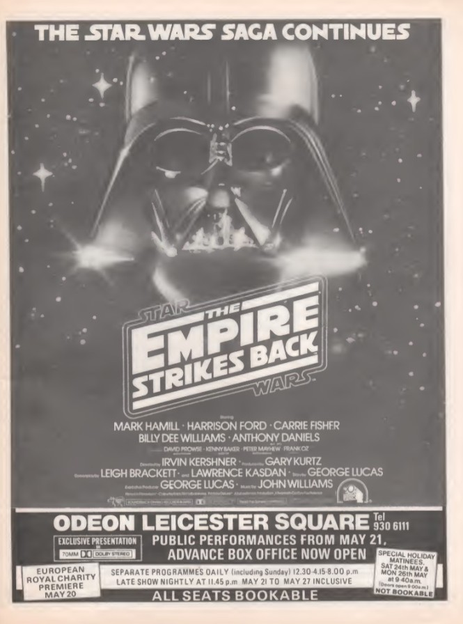 Empire Strikes Back SB22 1980