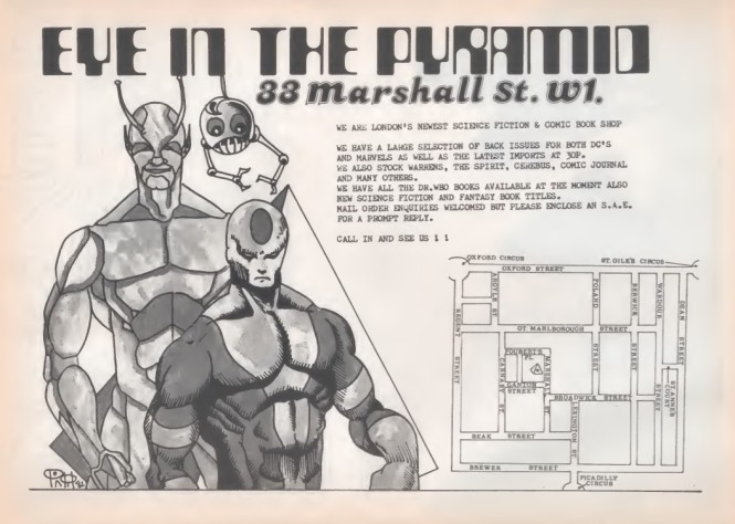 Eye In The Pyramid SB47 1982