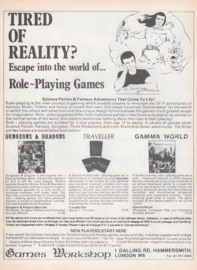Games Workshop SB14 1979
