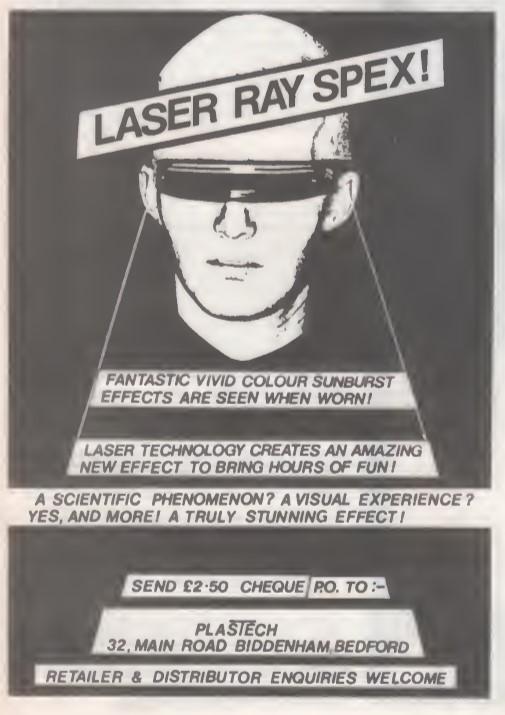 Laser Ray Spex SB46 1982