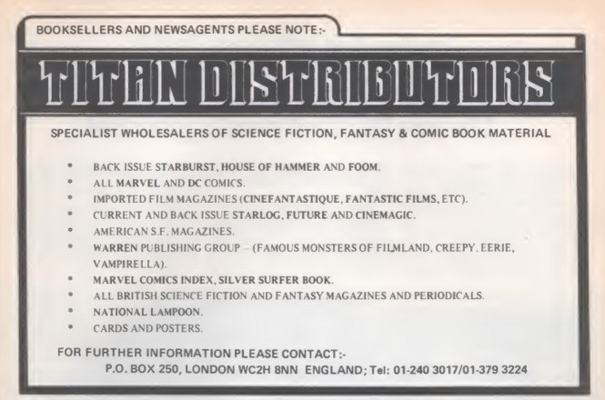 Titan Distributors SB11 1979