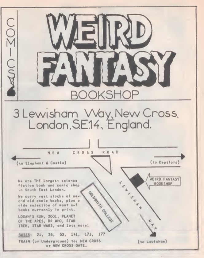 Weird Fantasy SB2 1978