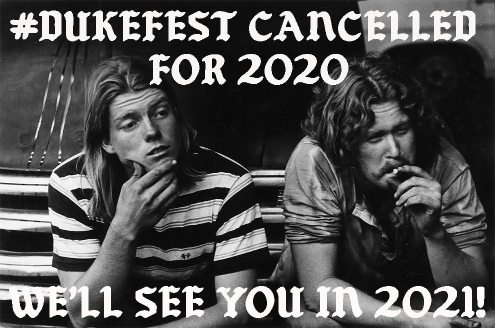 DukeFest Cancelled